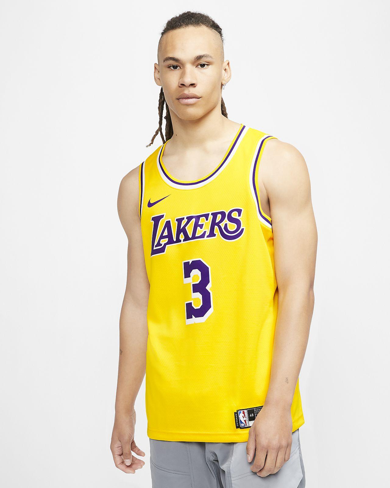เสื้อแข่ง Nike NBA Swingman Anthony Davis Lakers Icon Edition