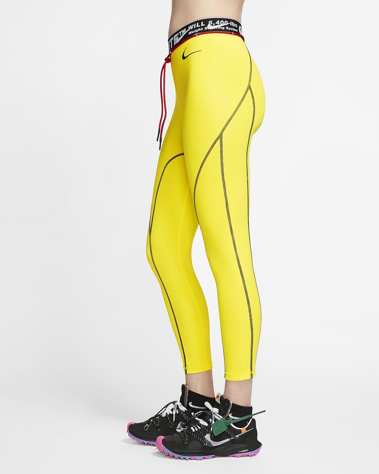 Nike x Off White™ Pro női testhezálló nadrág