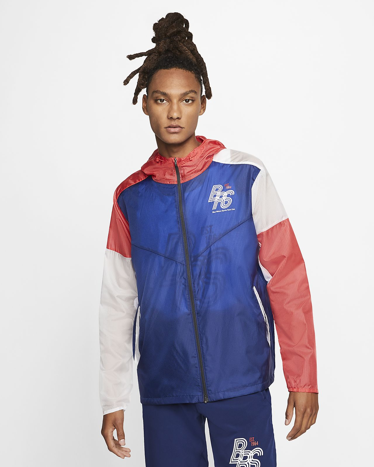 Nike Blue Ribbon Sports Running Jacket