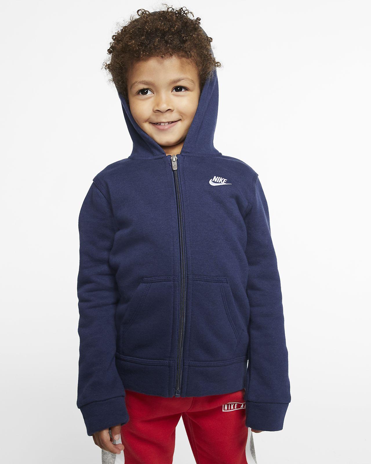 Nike Sportswear Club Toddler Full-Zip Hoodie
