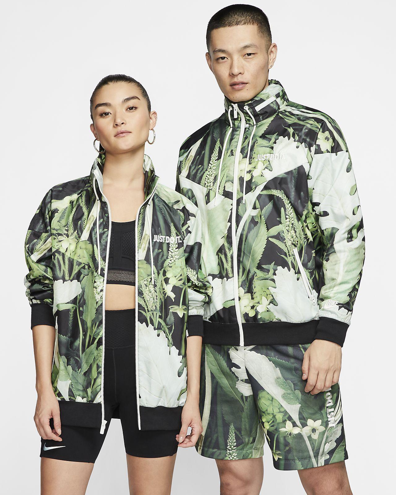 Nike Sportswear JDI Windrunner Floral 男子梭织夹克