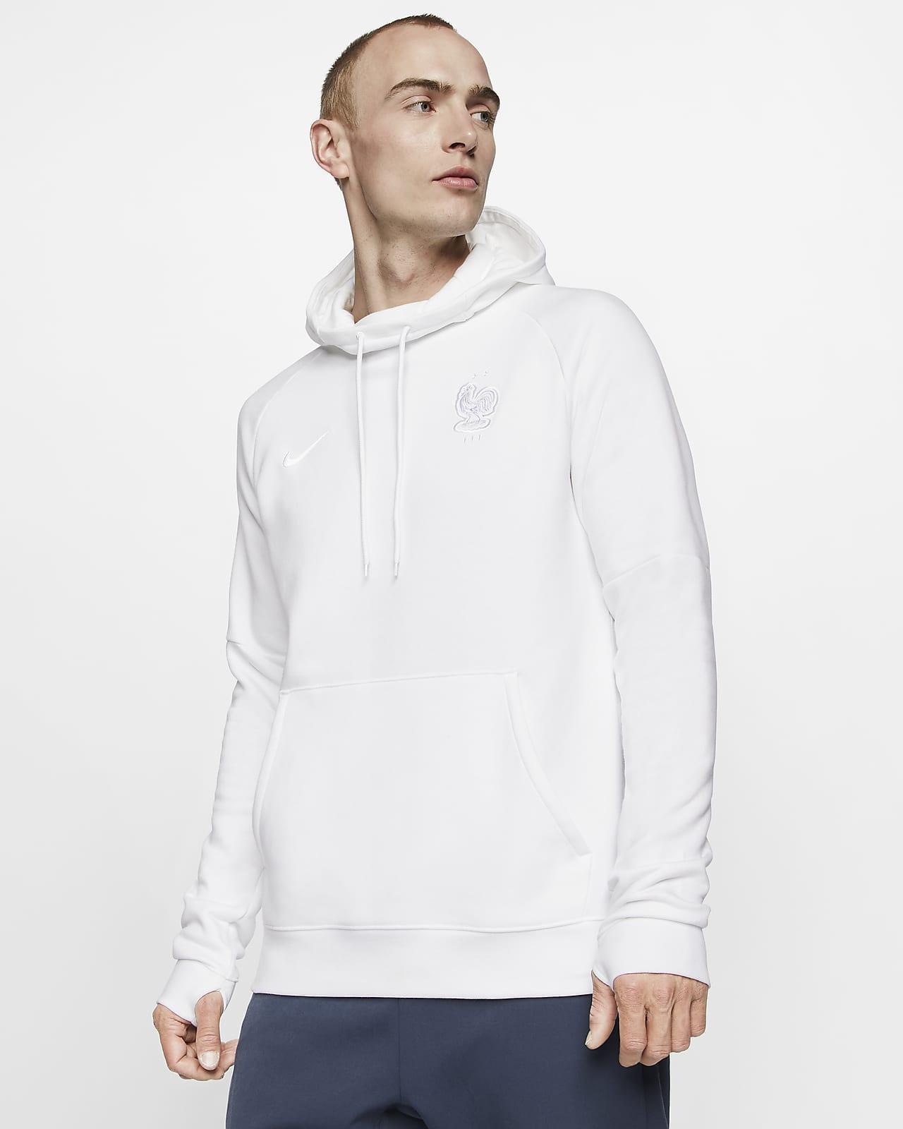 Sweat à capuche de football en tissu Fleece FFF pour Homme