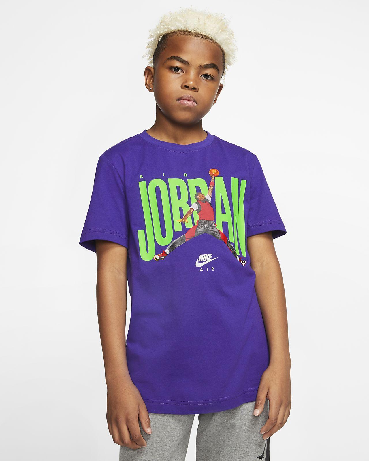 T-shirt Air Jordan för killar