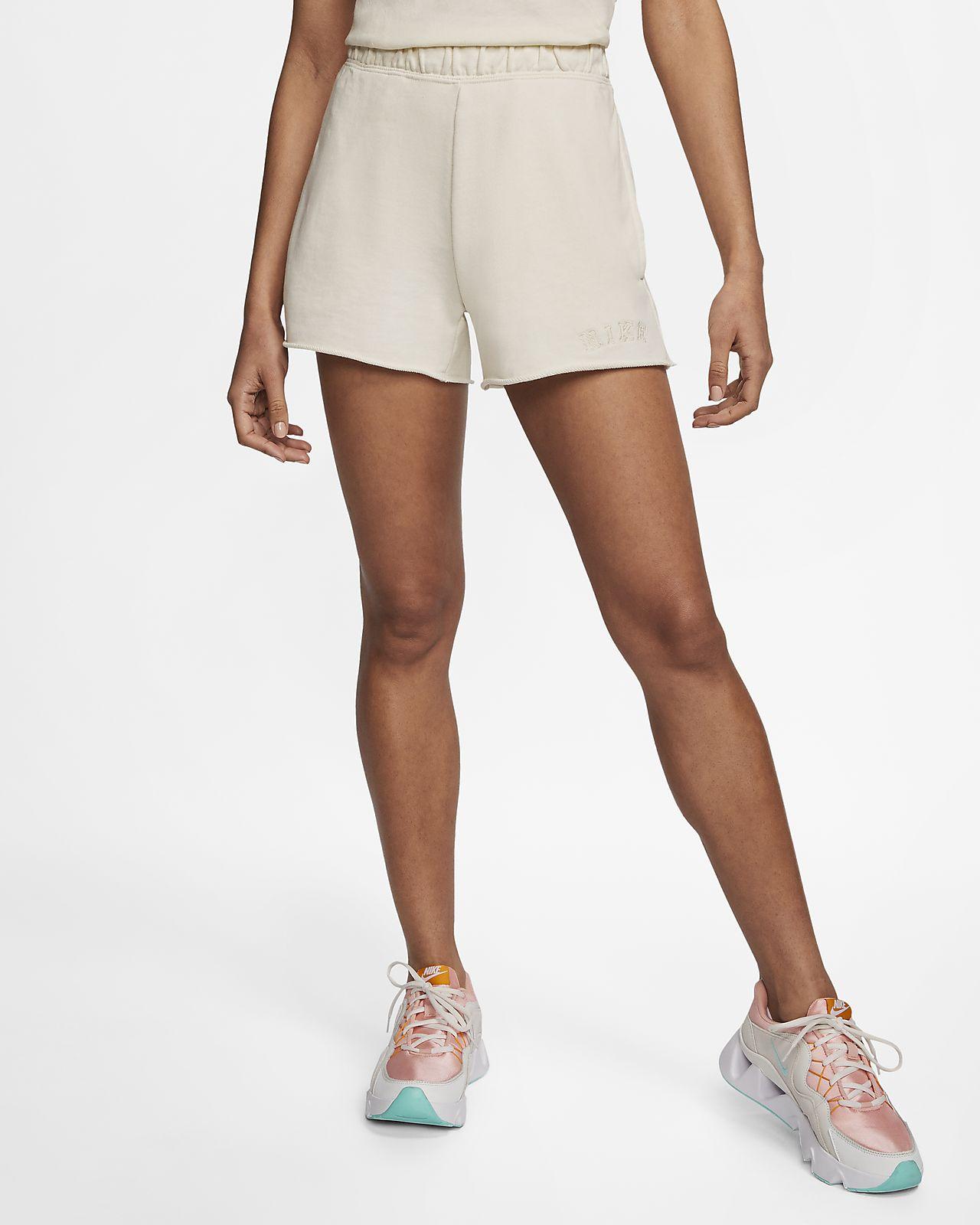 Shorts i frotté Nike Sportswear för kvinnor
