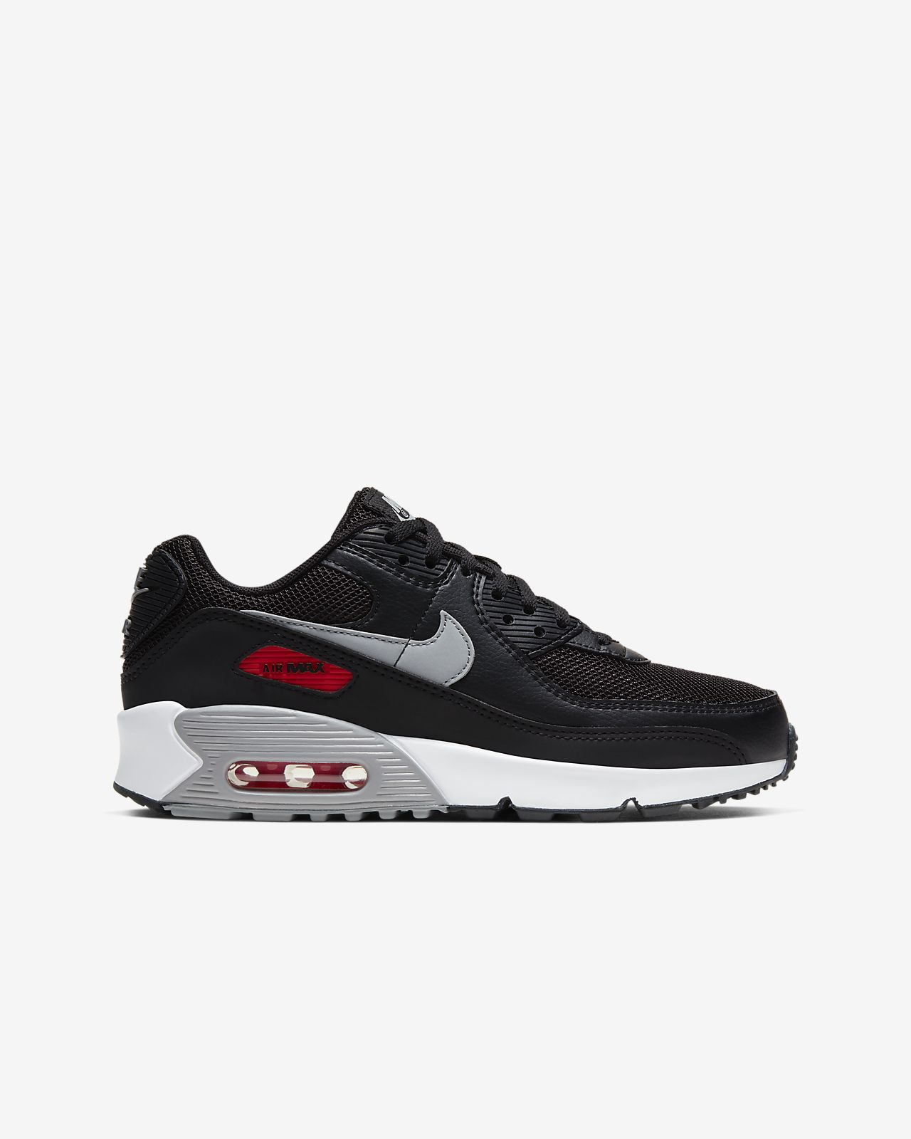 nike wmns air max 90 1 white university red neutral grey