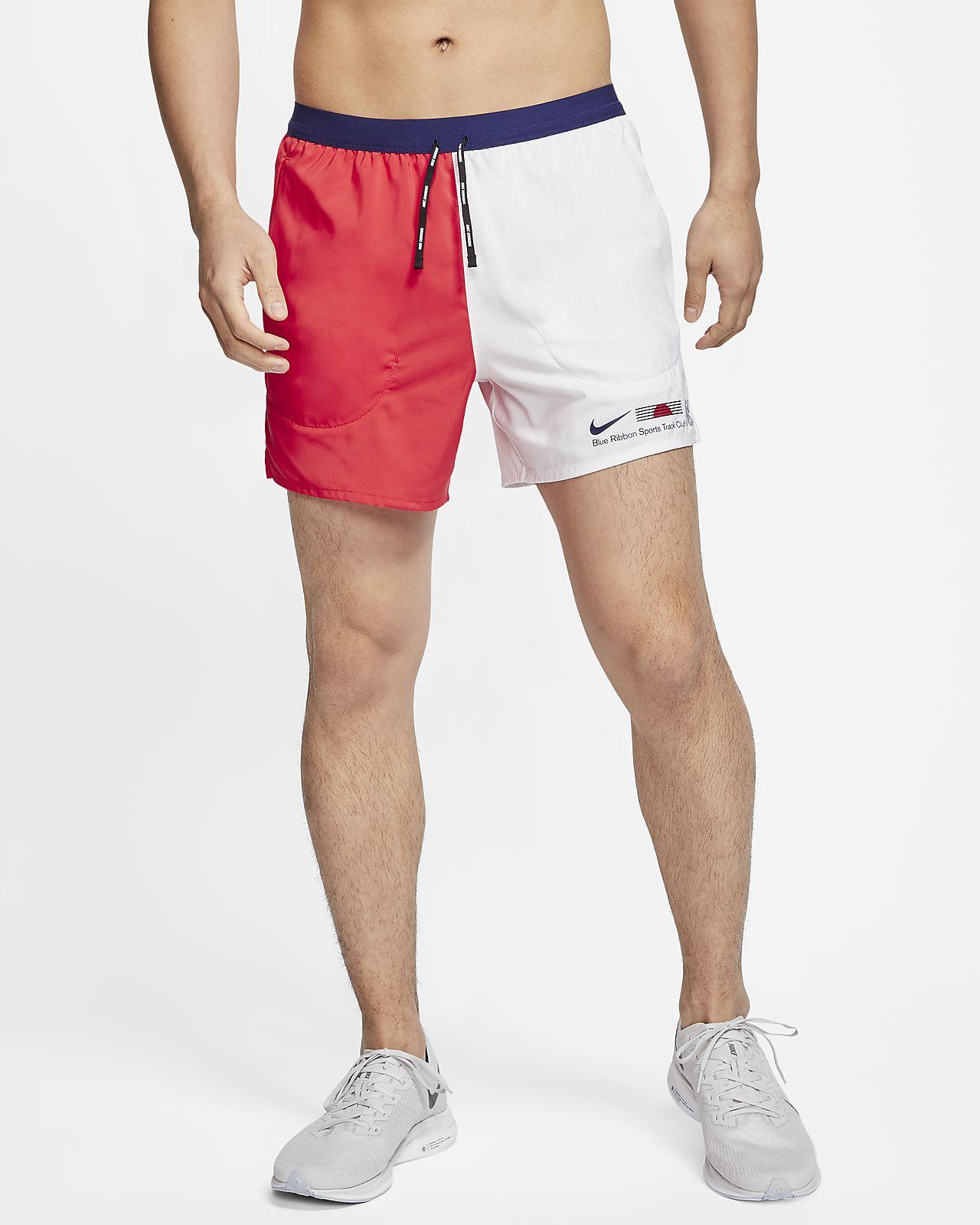 กางเกงวิ่งขาสั้น 3.5 นิ้วมีซับในผู้ชาย Nike Flex Stride Blue Ribbon Sports
