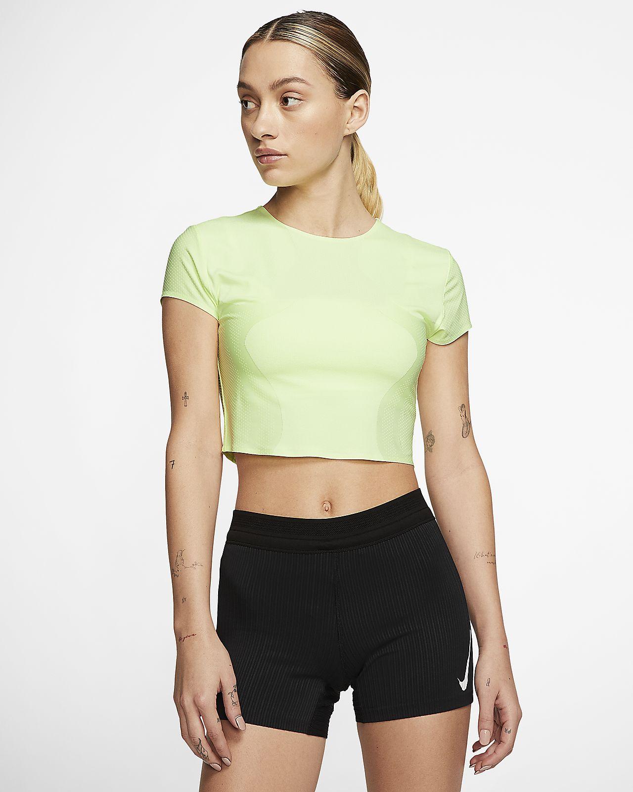 Nike City Ready Run-løbetop til kvinder