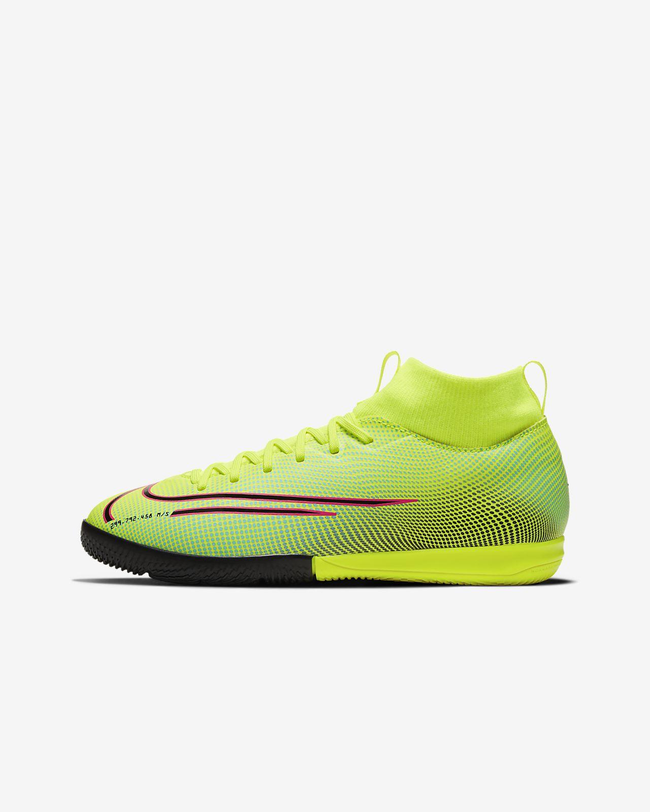 Scarpa da calcio per campi indoorcemento Nike Jr. Mercurial