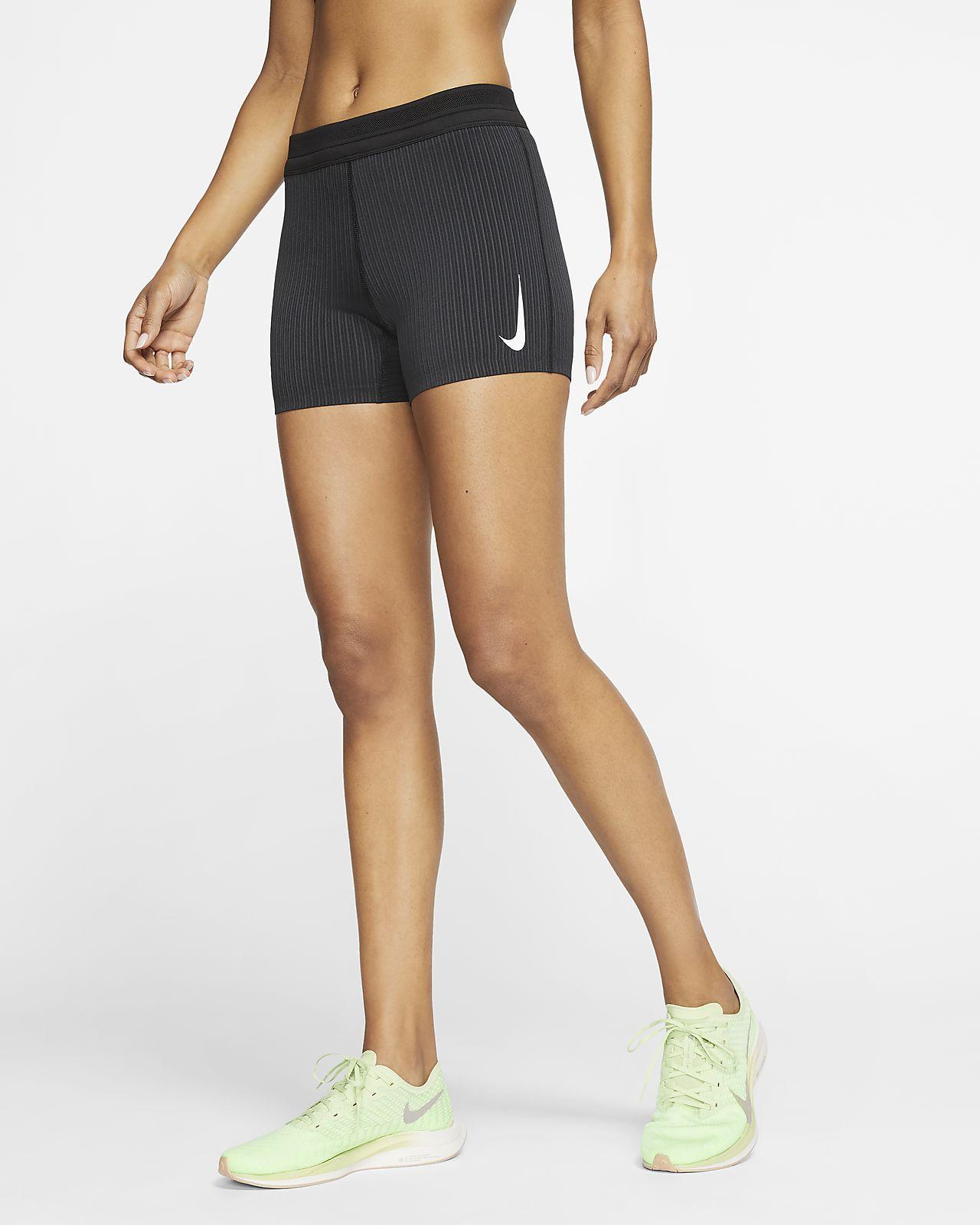 Shorts da running aderenti Nike AeroSwift - Donna