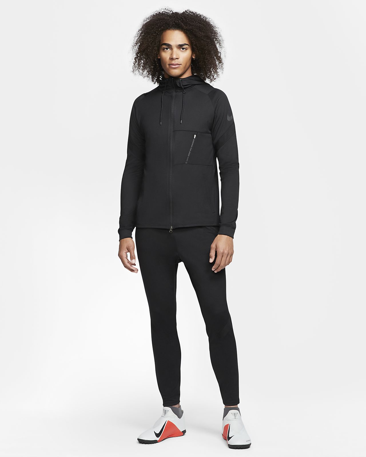 Nike Dri-FIT Strike Fußball-Trainingsanzug aus Strickmaterial für Herren