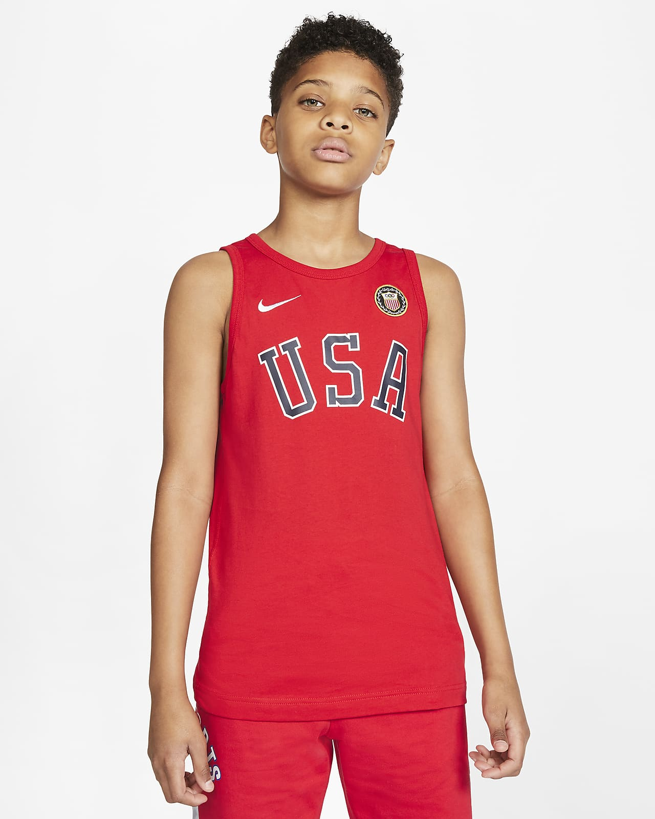 Nike Sportswear Team USA Big Kids' (Boys') Tank