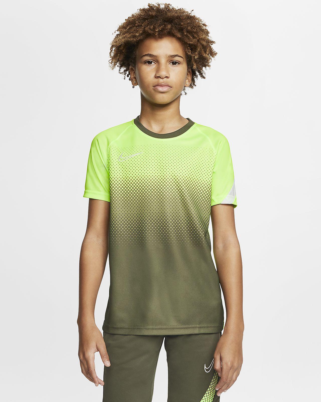 Haut de football à manches courtes Nike Dri FIT Academy pour Enfant plus âgé