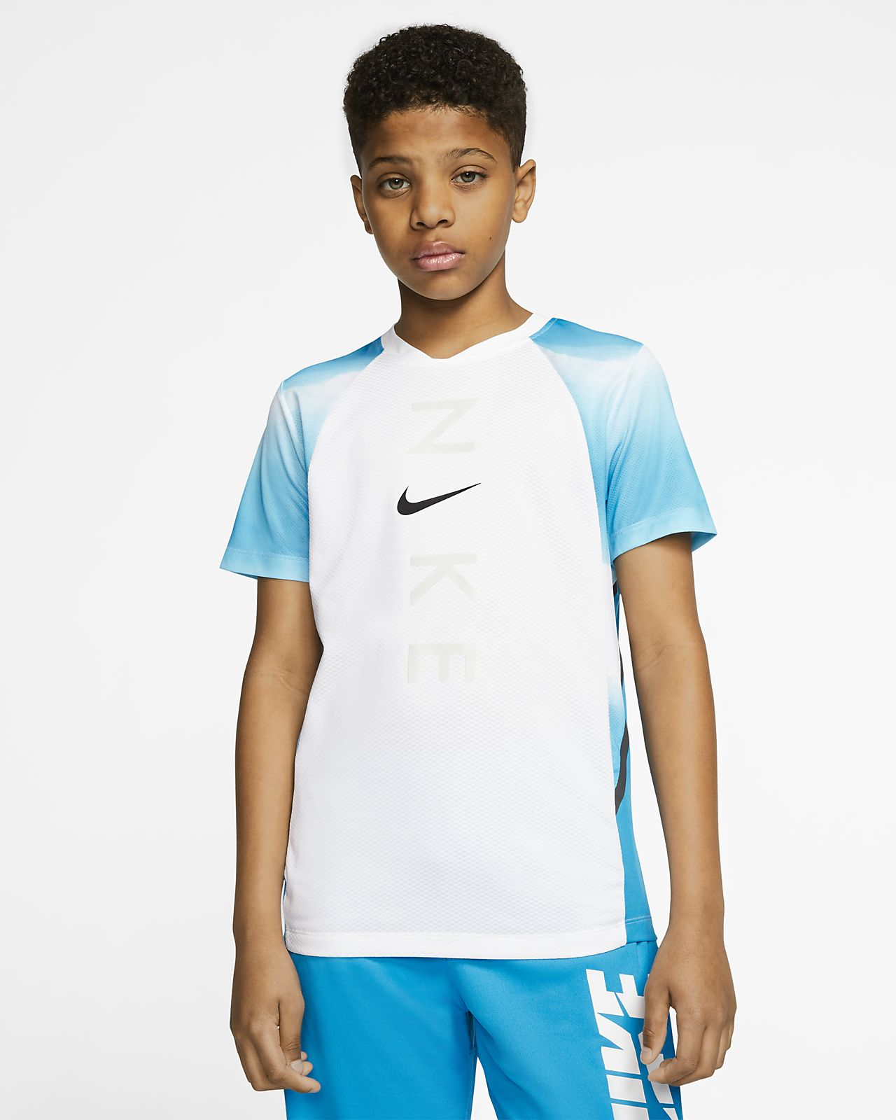 Nike Instacool 大童(男孩)训练上衣