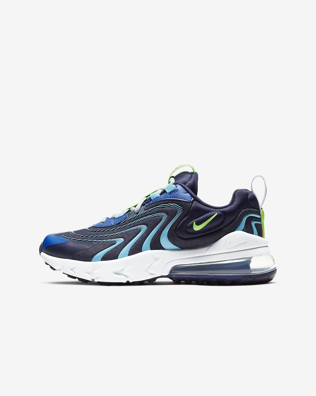 Nike Air Max 270 React ENG-sko til store børn