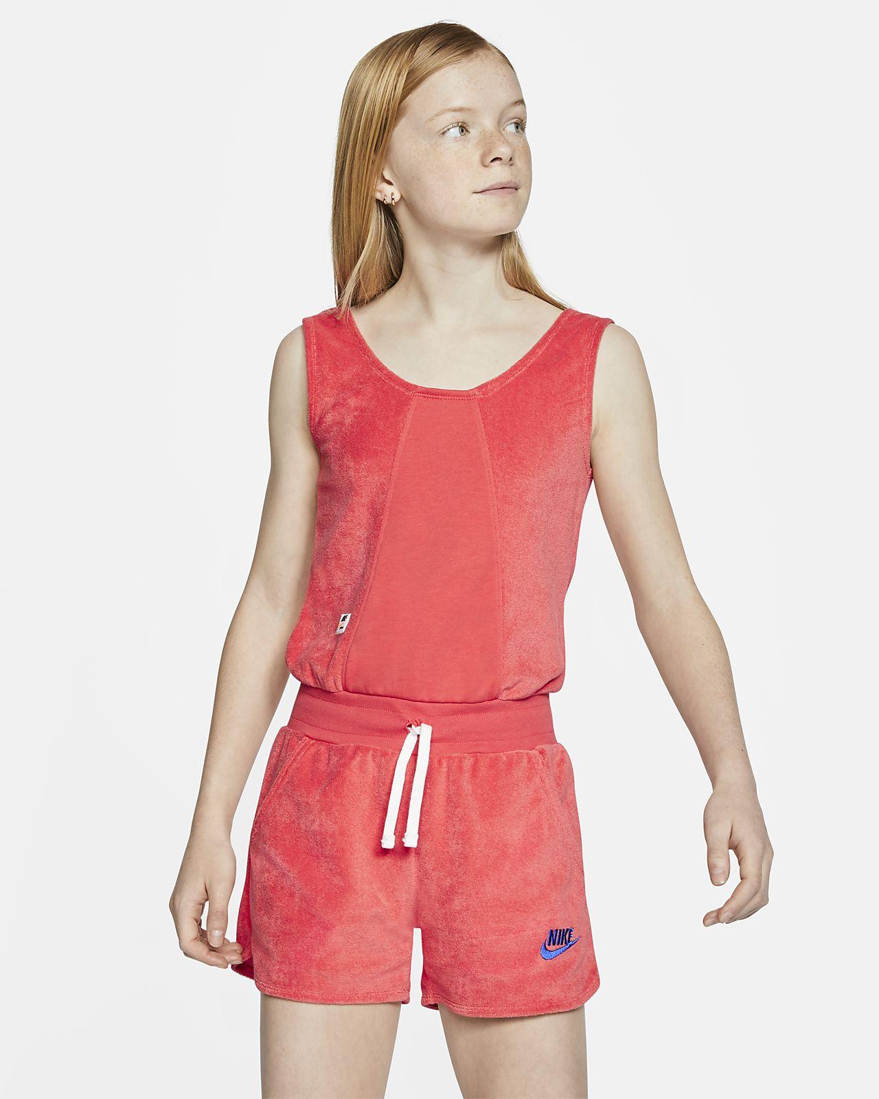 Nike Sportswear Heritage Big Kids' (Girls') Romper