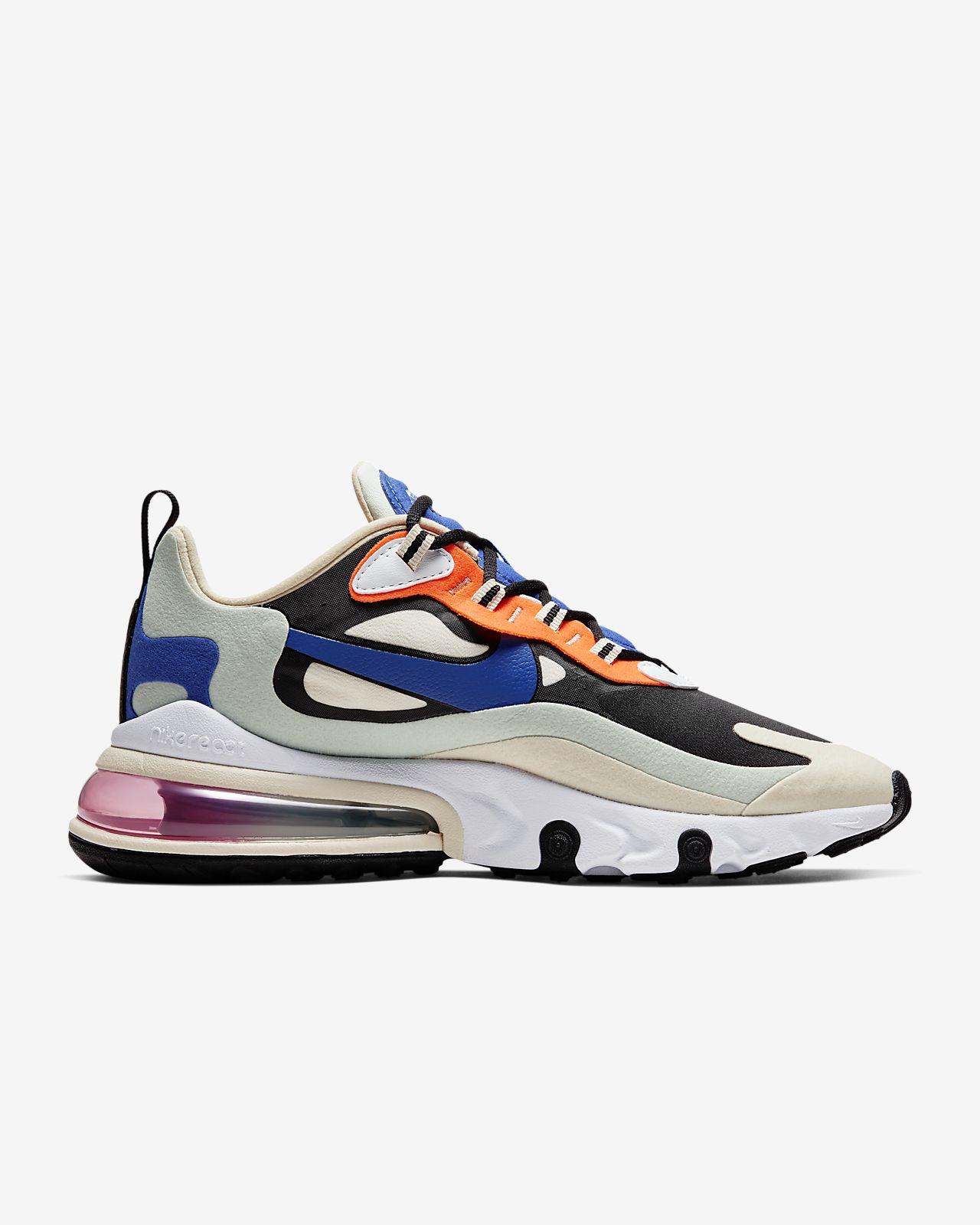 Nike Sportswear AIR MAX 270 REACT - Sneakersy niskie - spruce aura/white/pistachio frost/black