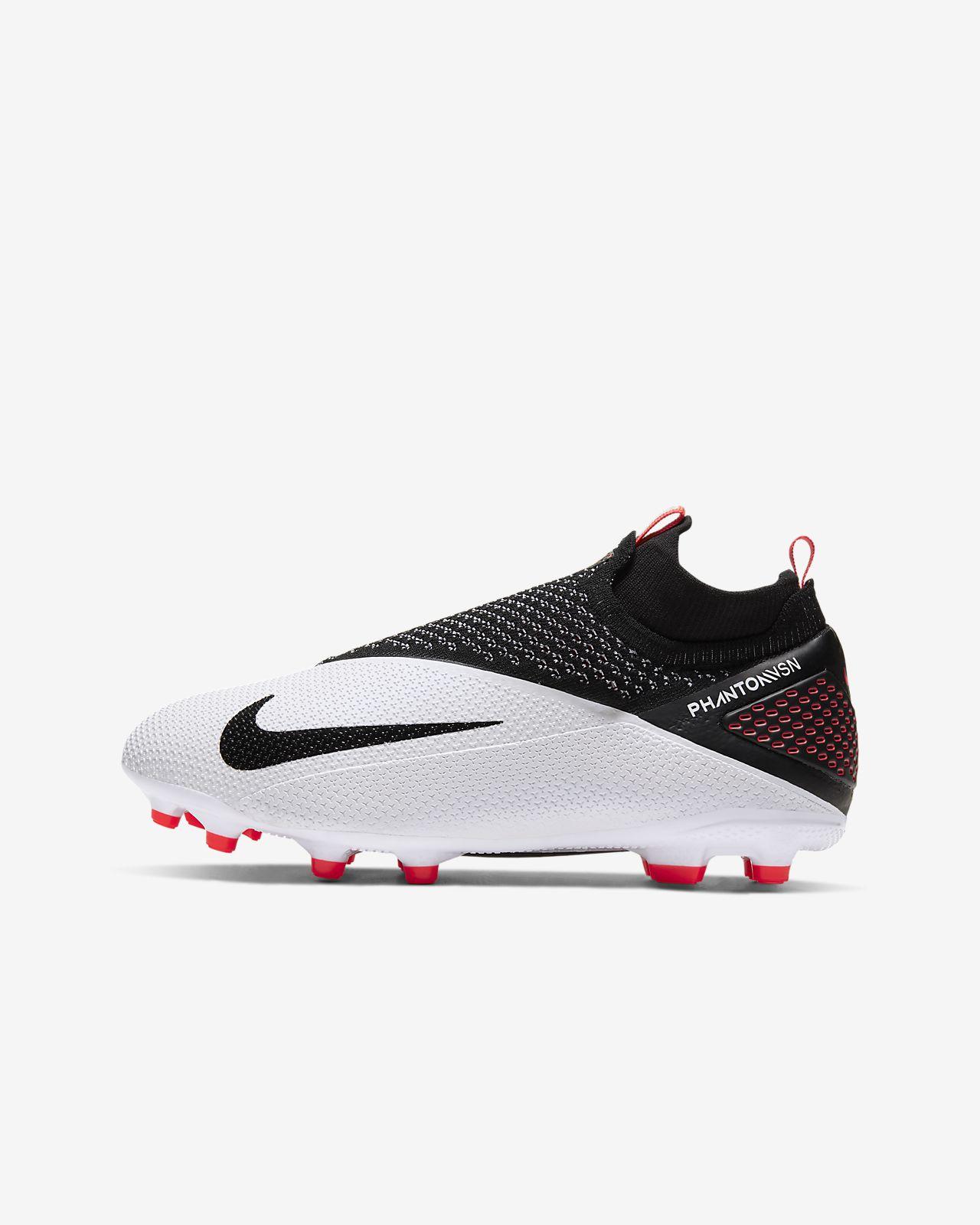 Nike Jr. Phantom Vision 2 Elite Dynamic Fit MG többféle talajra készült stoplis futballcipő nagyobb gyerekeknek