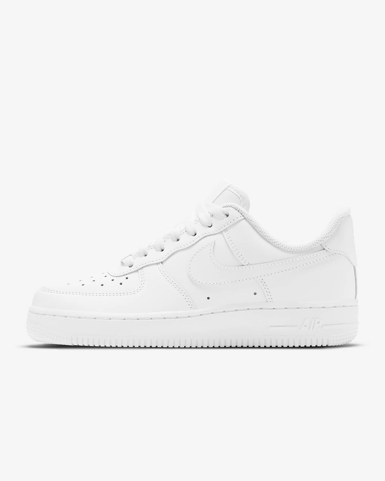 nike air force one femme blanche et or