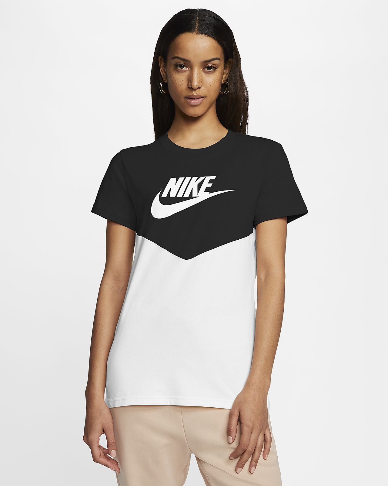 Nike Sportswear Heritage Camiseta de manga corta - Mujer