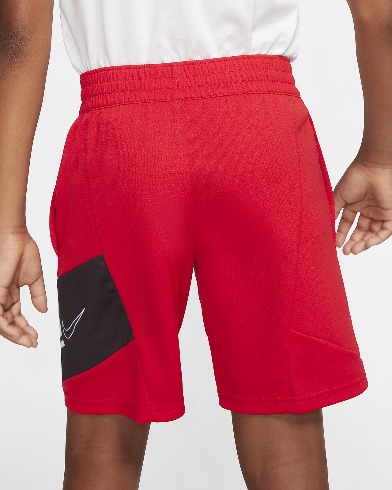 Shoppa Nike Elite Graphic Basketshorts Junior i en Svart