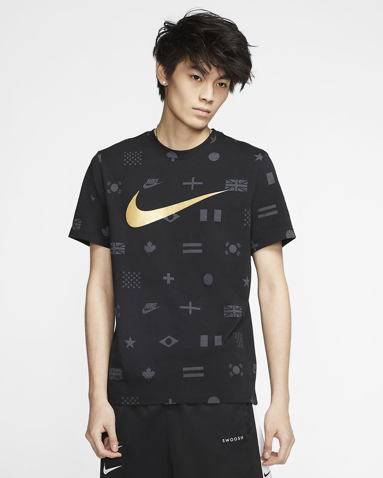 ナイキ スポーツウェア メンズ プリンテッド Tシャツ