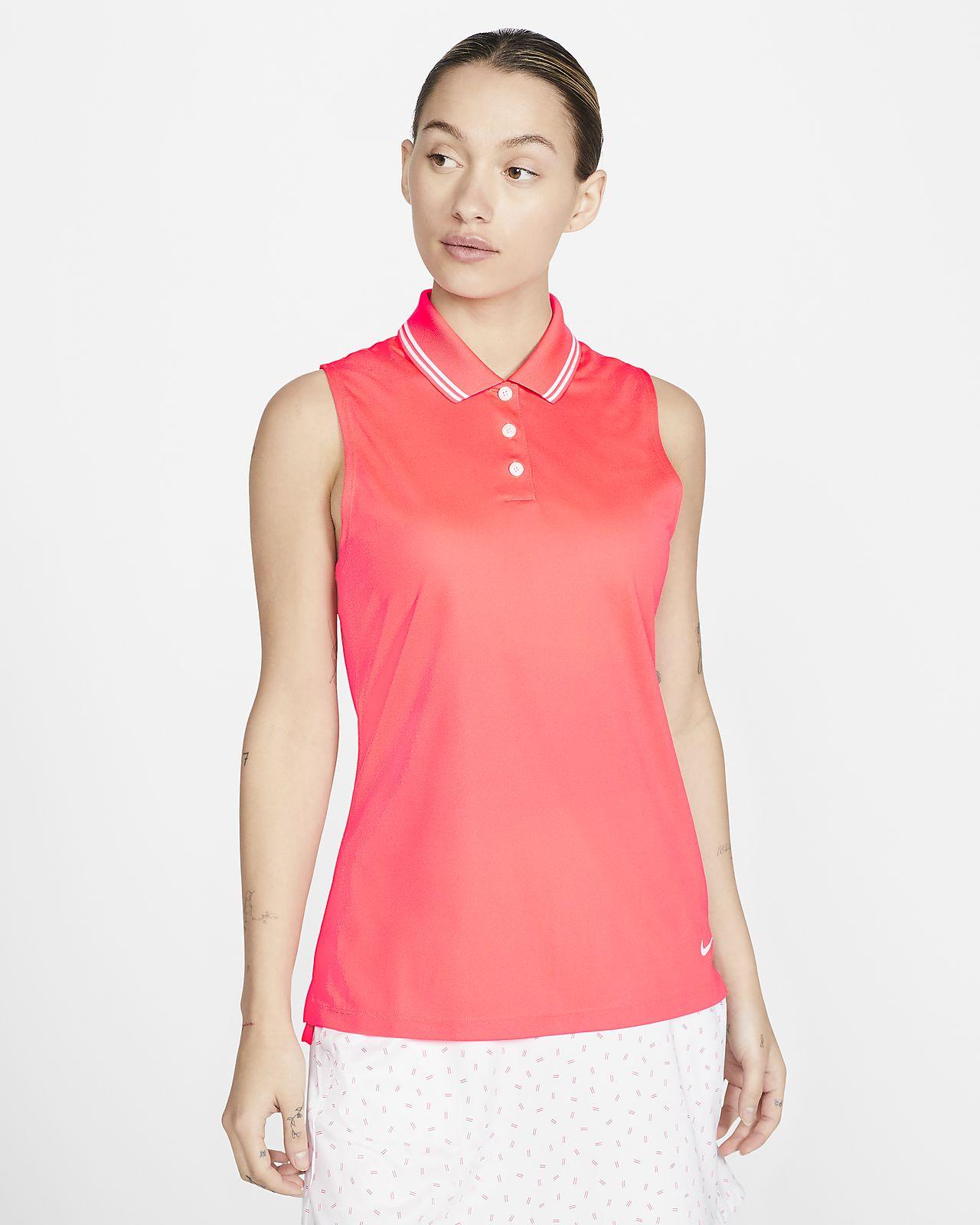 Polo da golf senza maniche Nike Dri-FIT Victory - Donna