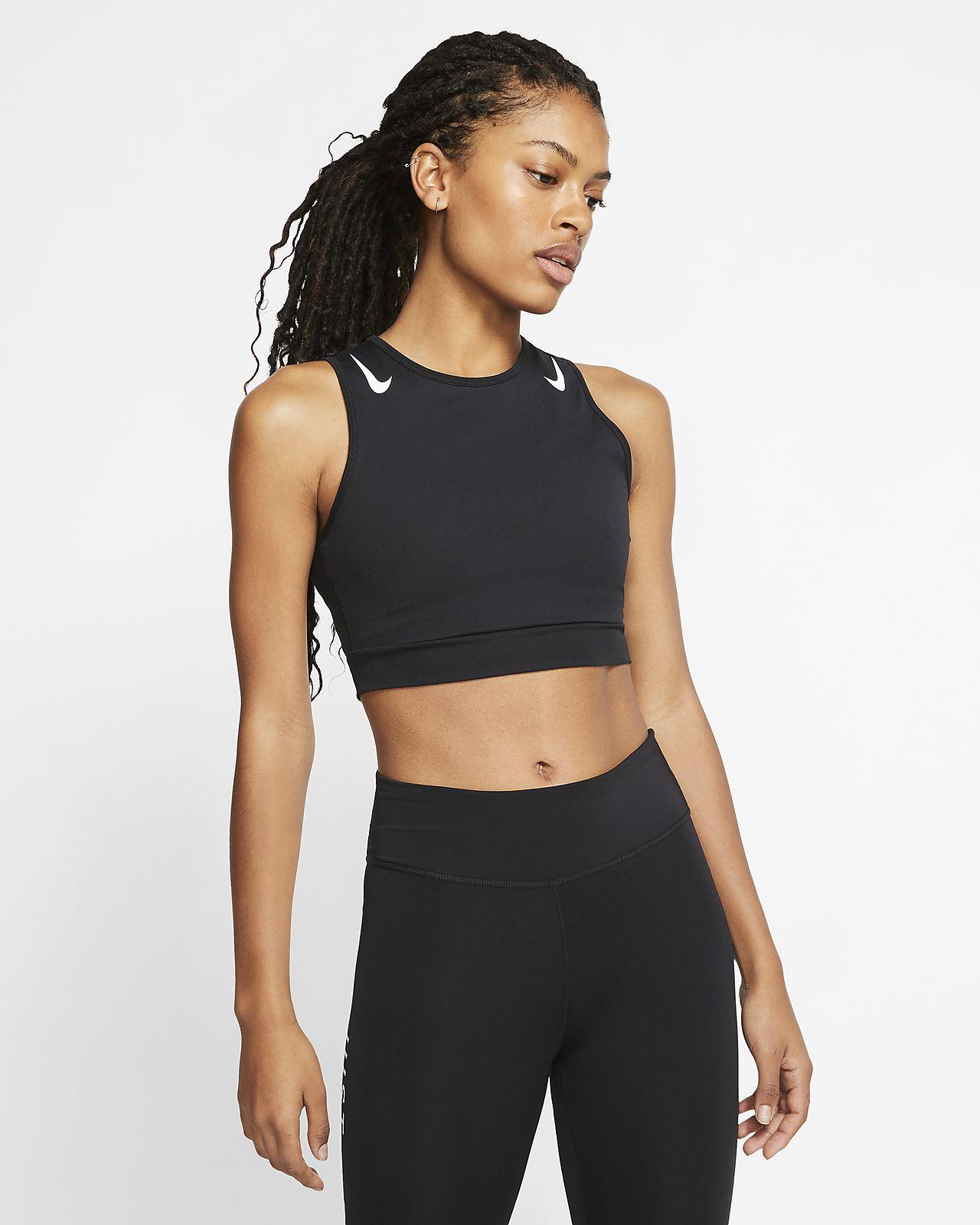 Nike AeroSwift Women's Running Crop Top. Nike.com