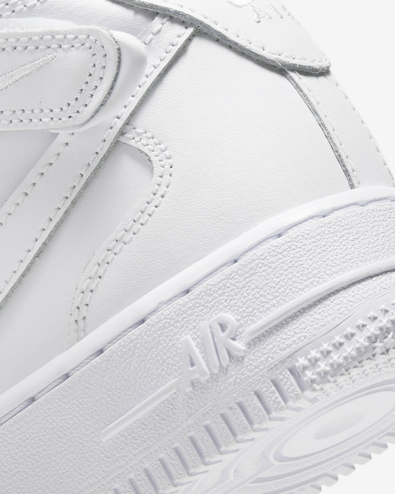 Kids NIKE AIR FORCE 1 One Size 6.5Y AF1 '82 WHITE Womens