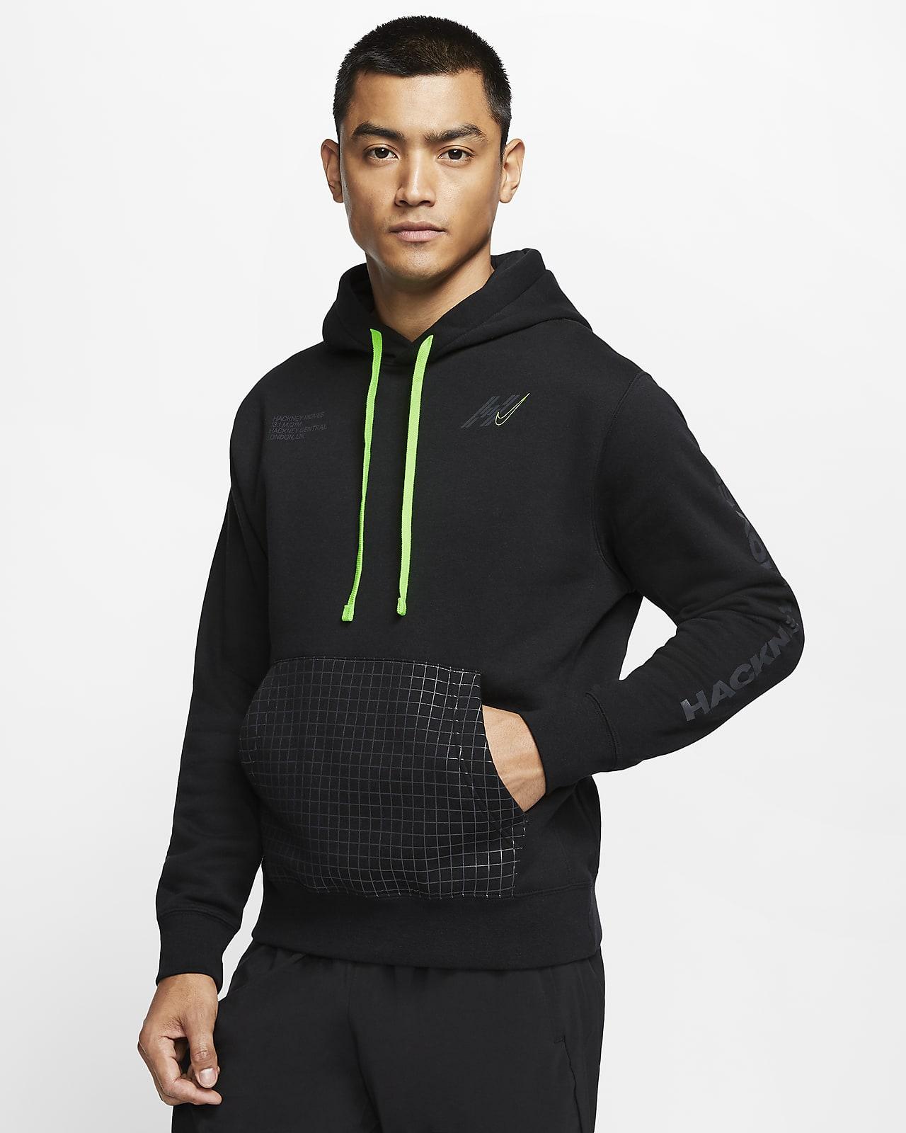 Μπλούζα με κουκούλα για τρέξιμο Nike Club Fleece