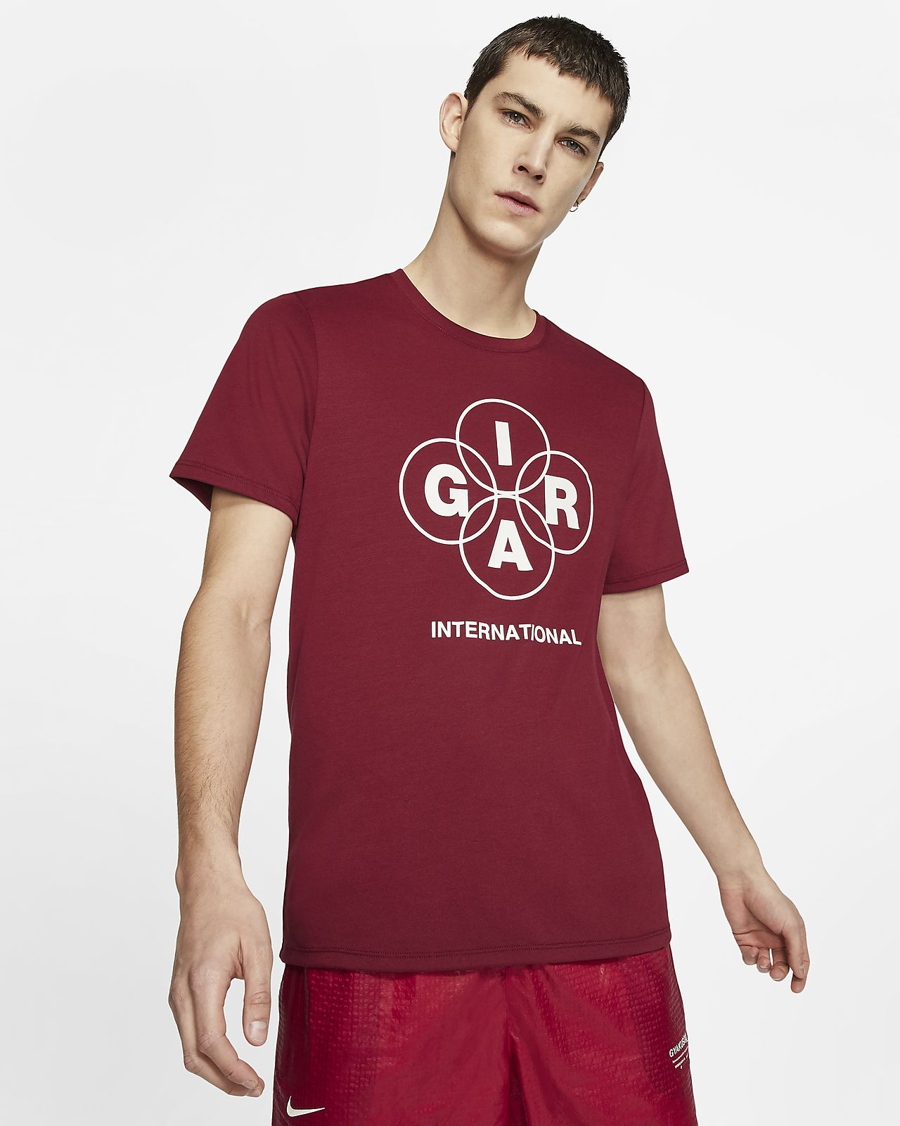 running uomo t-shirt nike