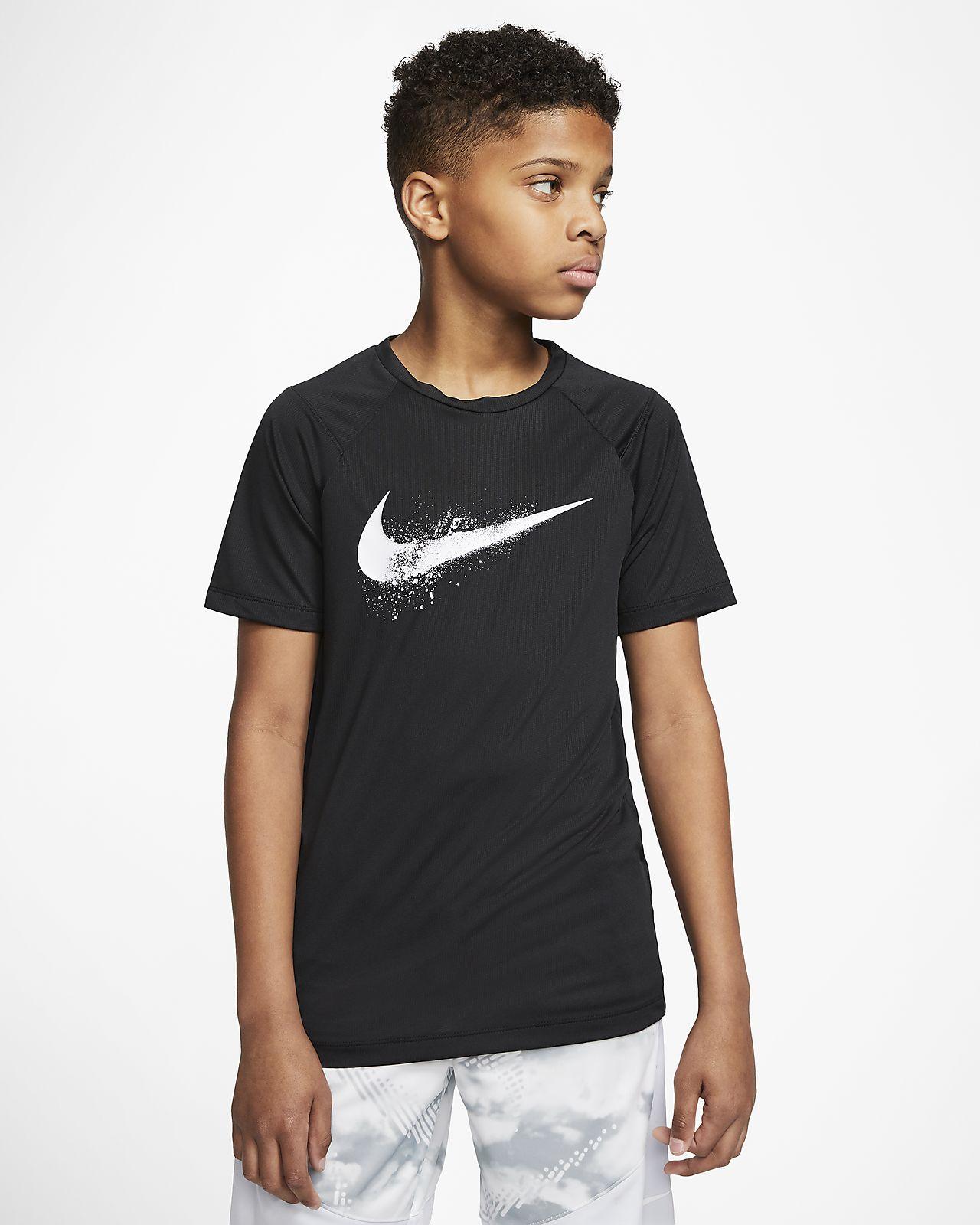 Nike 大童 (男童) 短袖圖樣訓練上衣