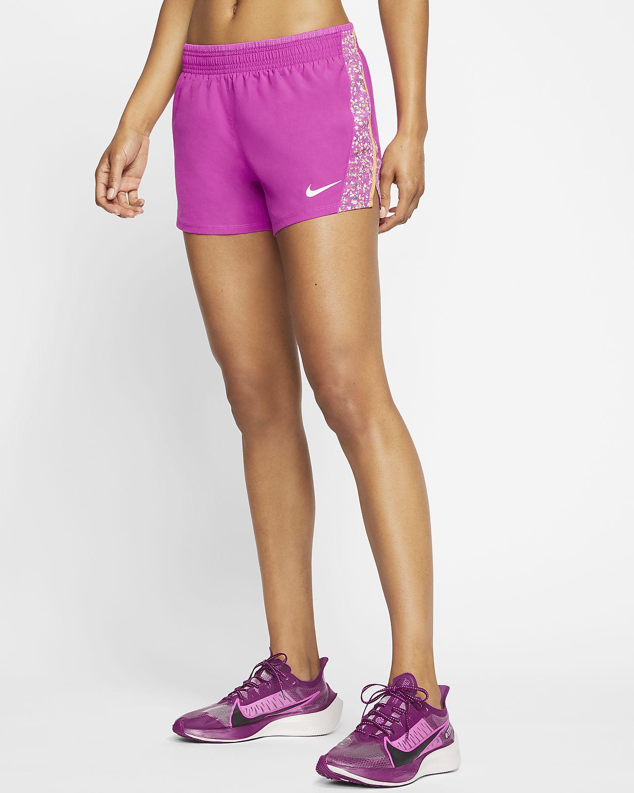 Shorts de running para mujer Nike 10K Icon Clash