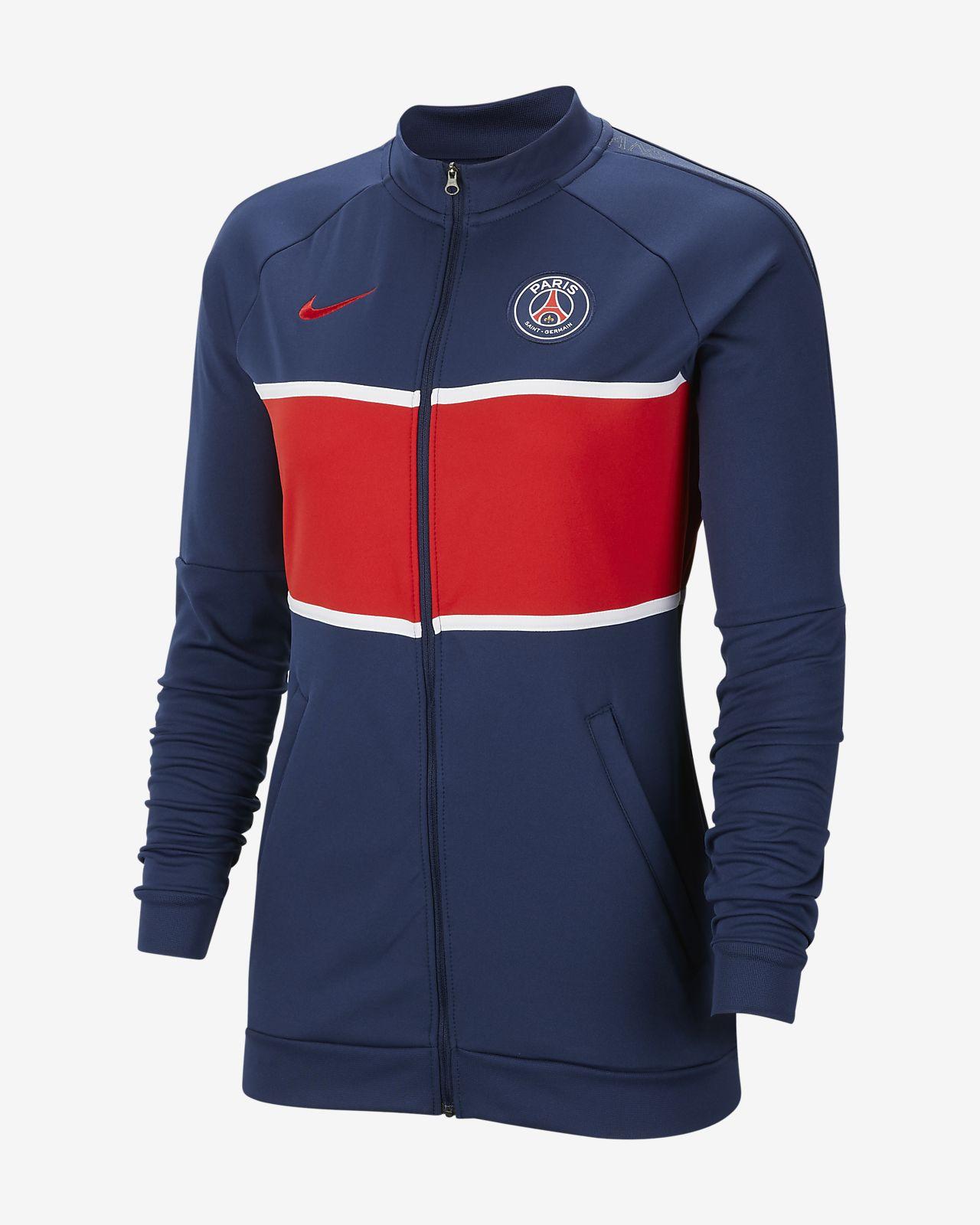 Chamarra de entrenamiento de fútbol para mujeres Paris Saint-Germain