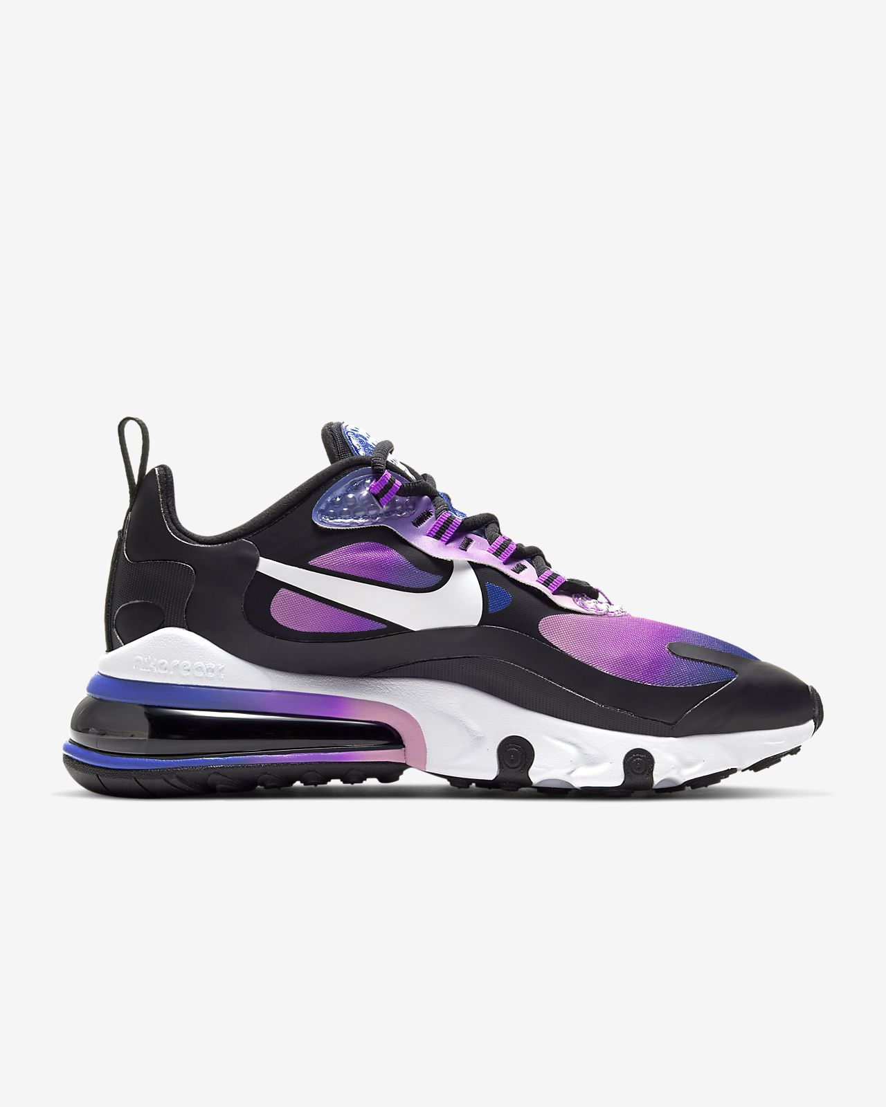 nike air max 270 black and purple
