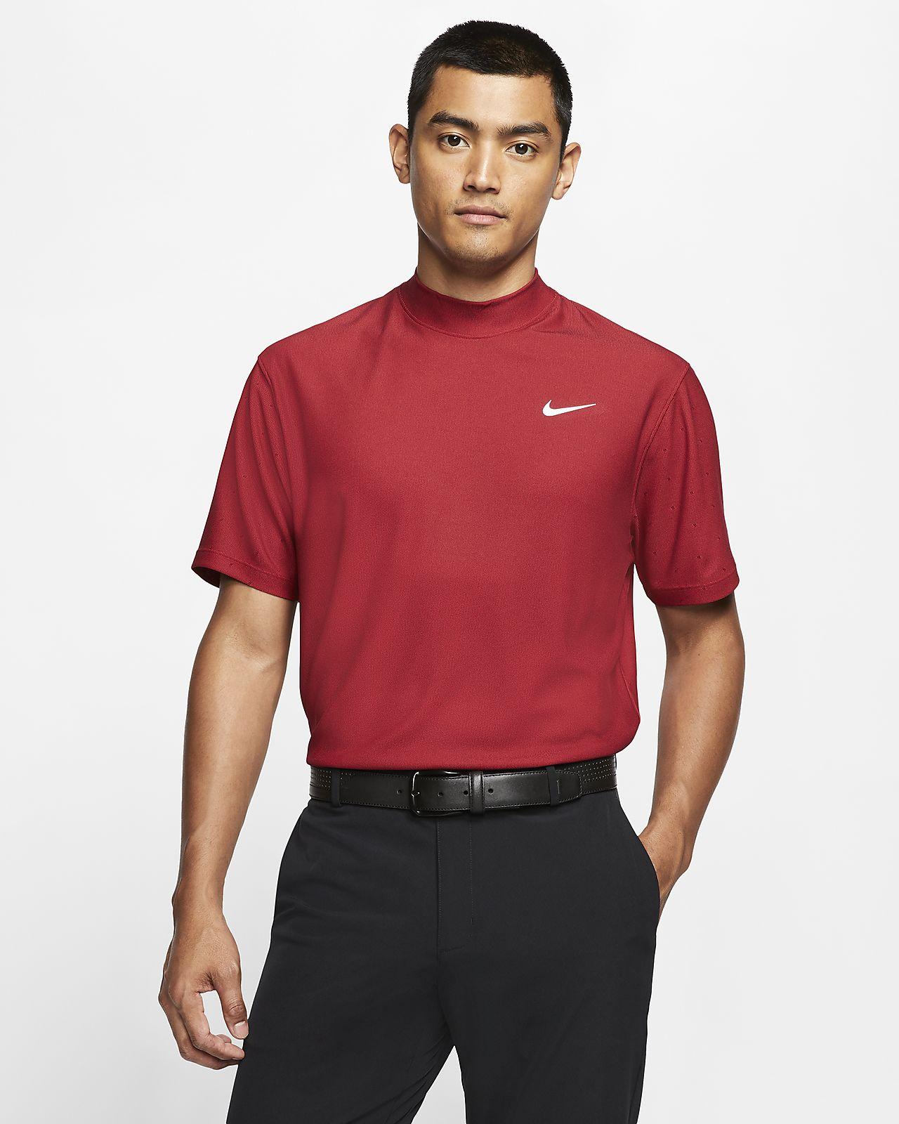 Nike Dri-FIT Tiger Woods Golfoberteil mit Stehkragen für Herren