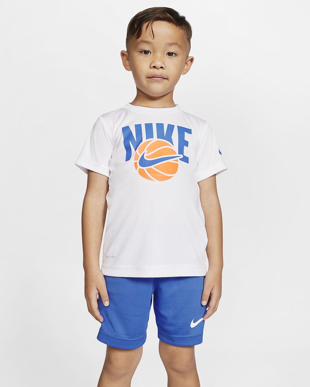 Nike Dri-FIT Toddler T-Shirt and Shorts Set