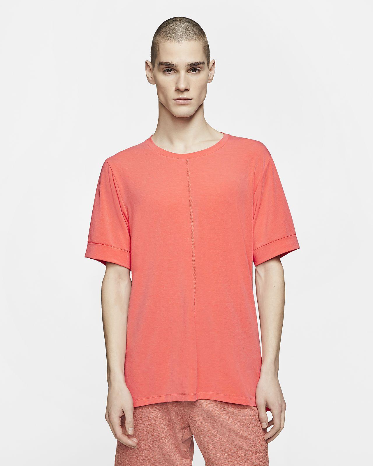 Nike Yoga Dri-FIT Kurzarmshirt für Herren