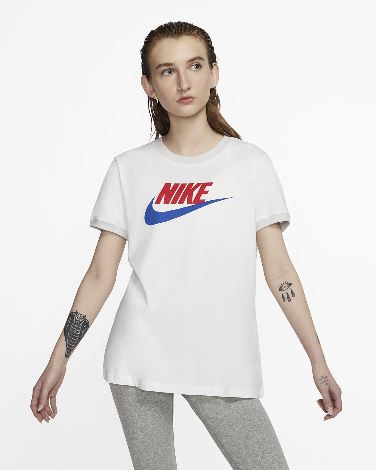 Playera para mujer Nike Sportswear Ringer