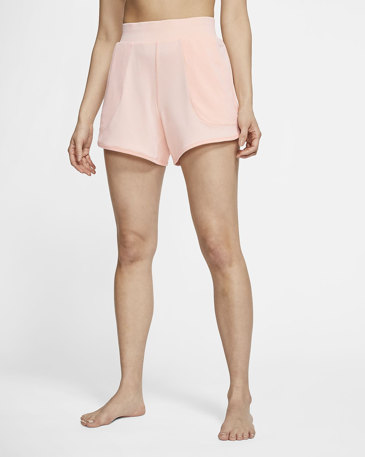 Nike Yoga Women's Ribbed Shorts