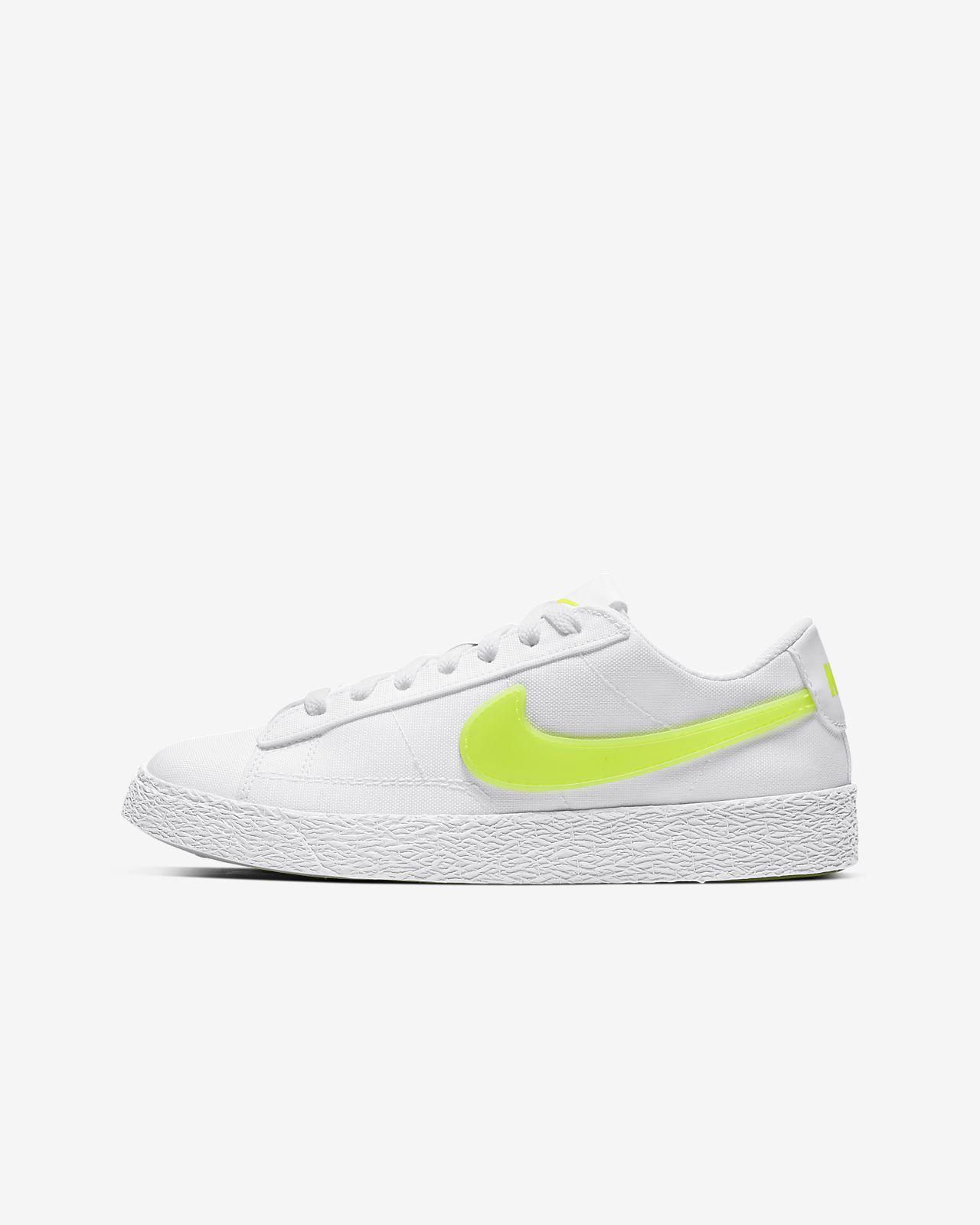 Sko Nike Blazer Low Pop för ungdom