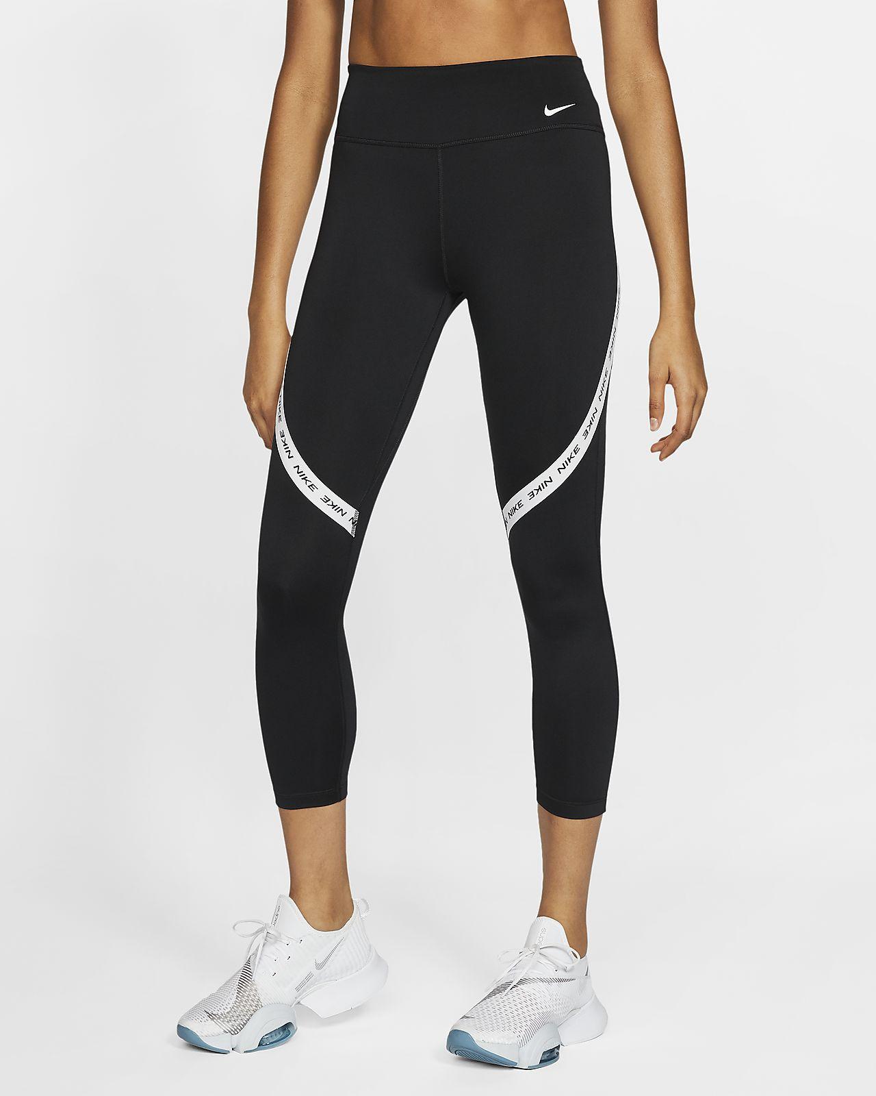 Leggings a lunghezza ridotta a vita media Nike One - Donna