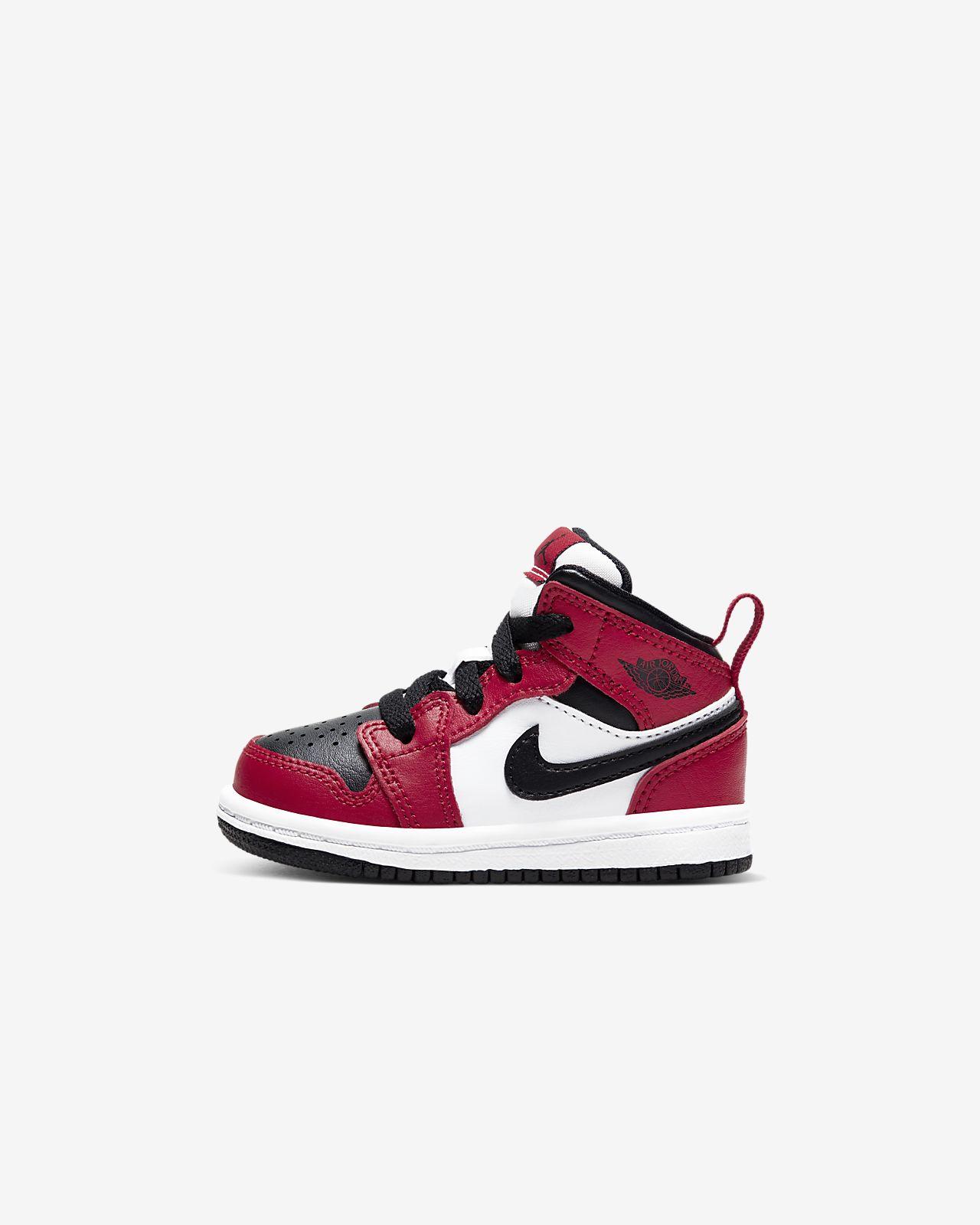 Jordan 1 Mid Schoen voor baby's/peuters