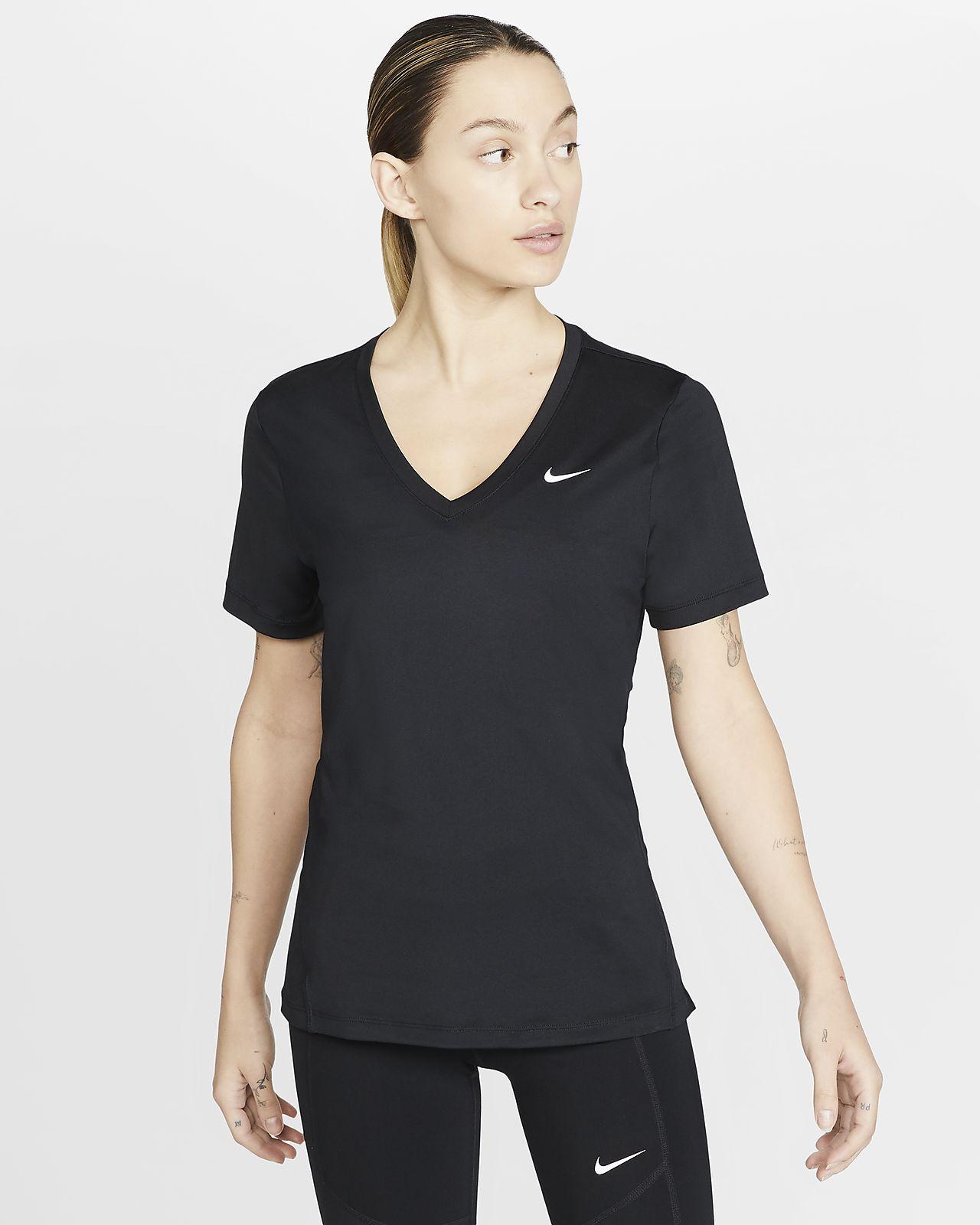 Kortärmad träningströja Nike Victory för kvinnor