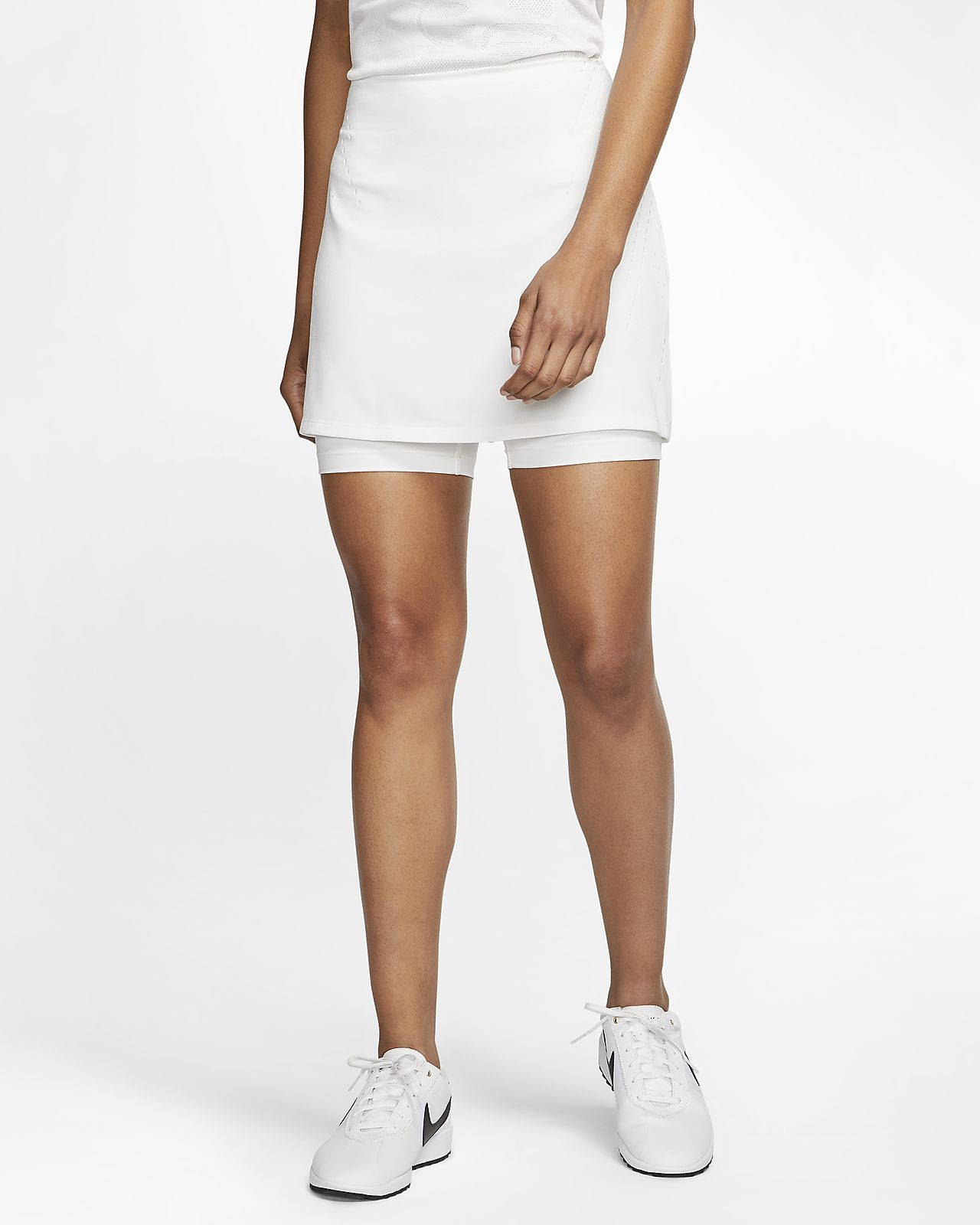 Nike Womens Dri-FIT Womens Perforated Tennis Skirt