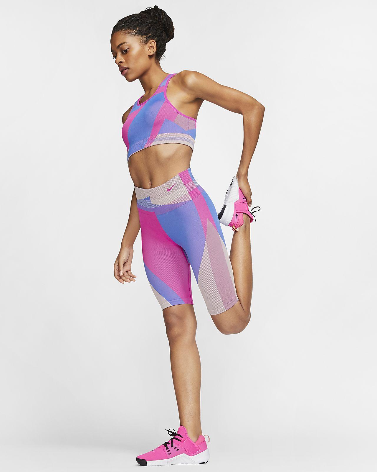 "Nike Icon Clash Women's Seamless 8"" Training Shorts"
