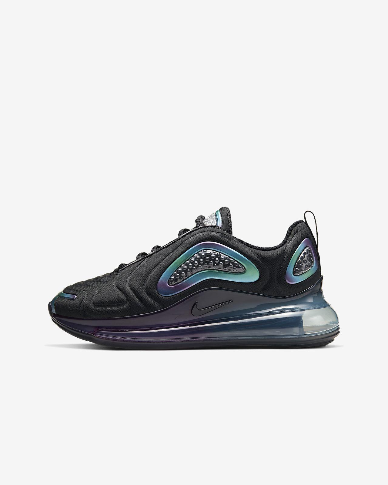 Nike Sportswear Air Max 720 Sneakers Sort Damer Sko Low