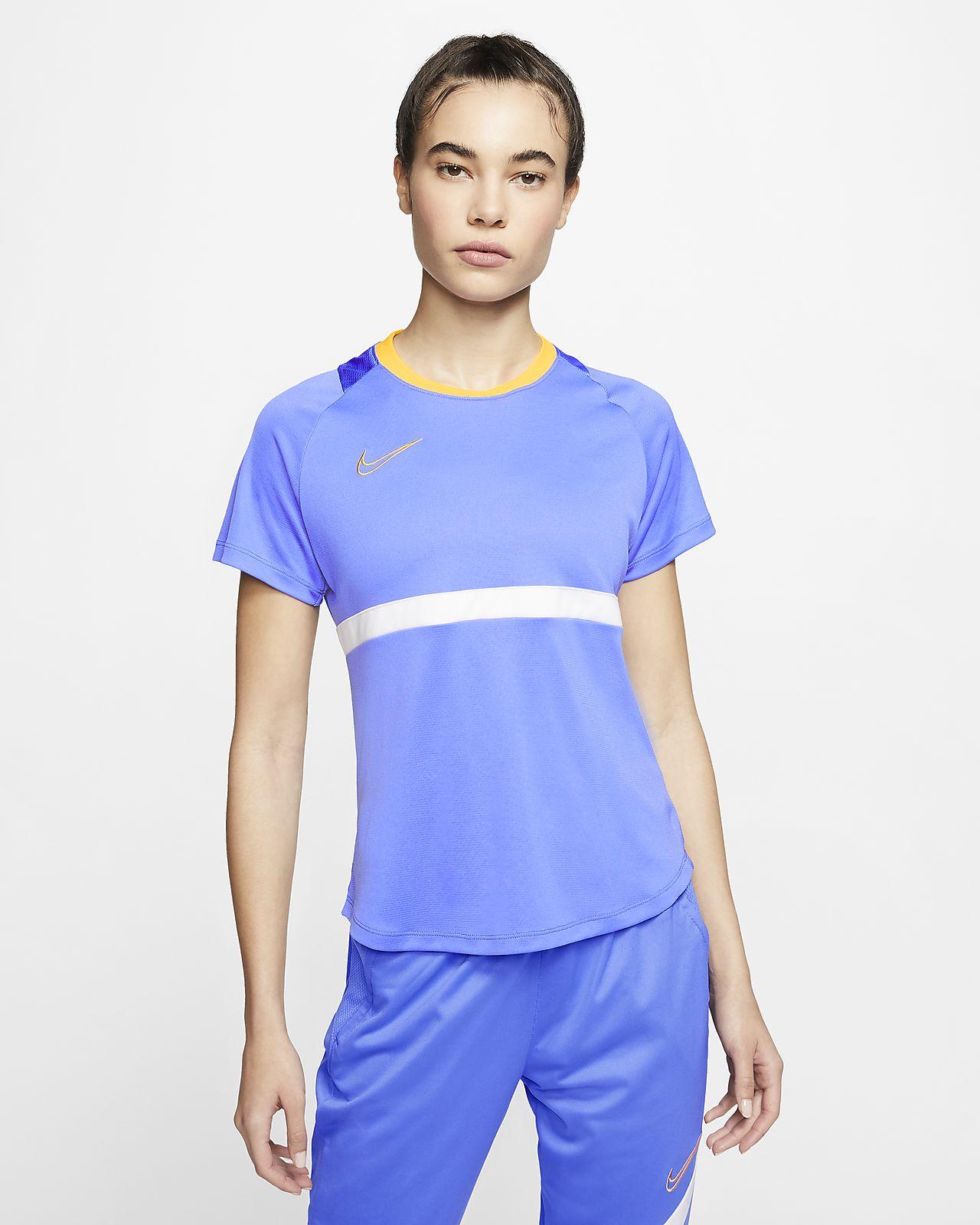 Nike Dri-FIT Academy Camiseta de fútbol de manga corta - Mujer