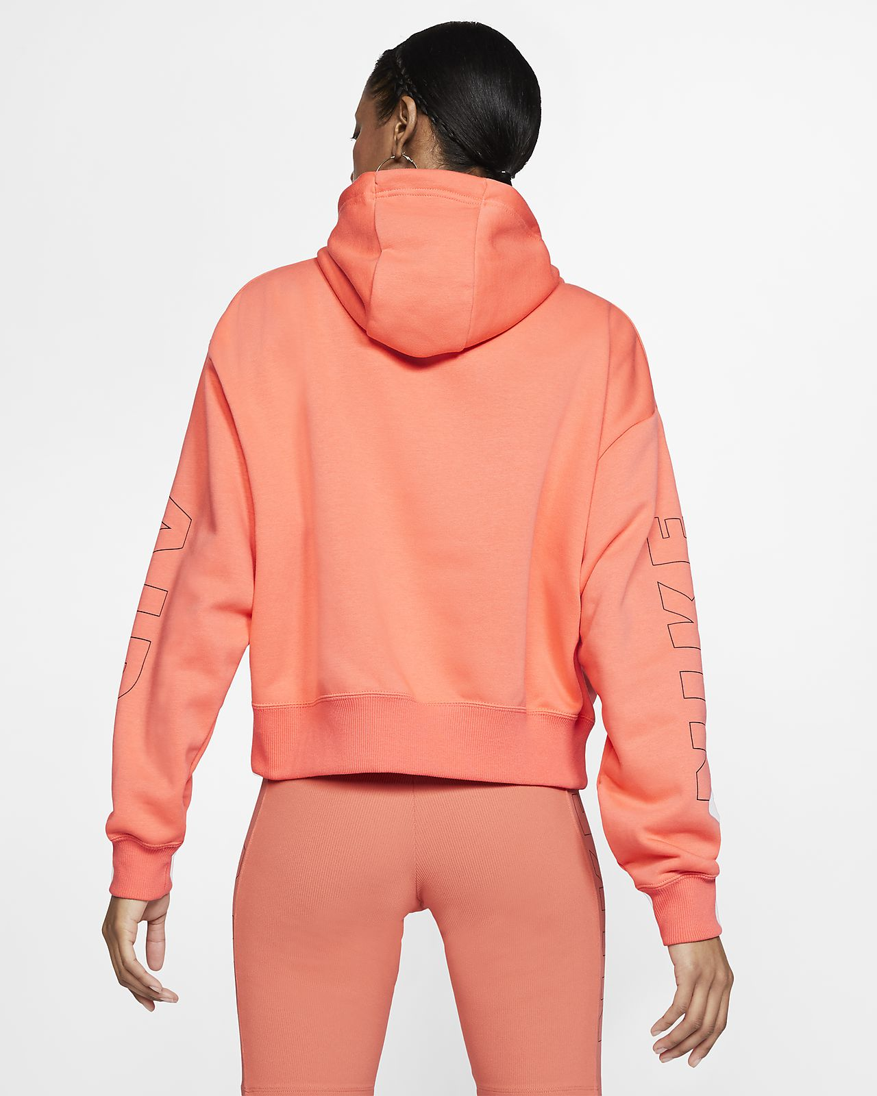 pull nike orange femme