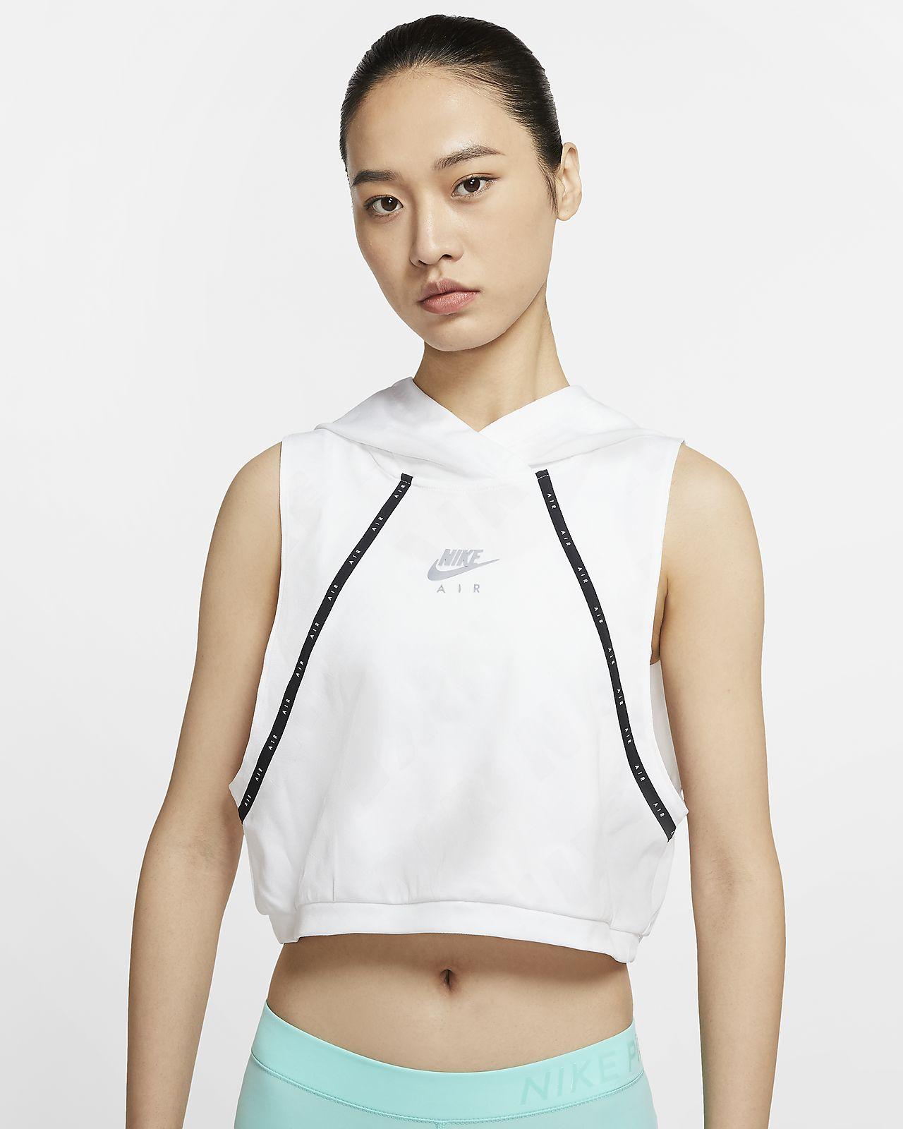 Nike Air 女子连帽跑步马甲