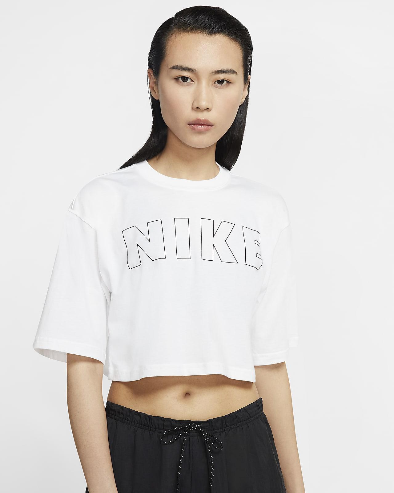 Nike Air 女款短版 T 恤